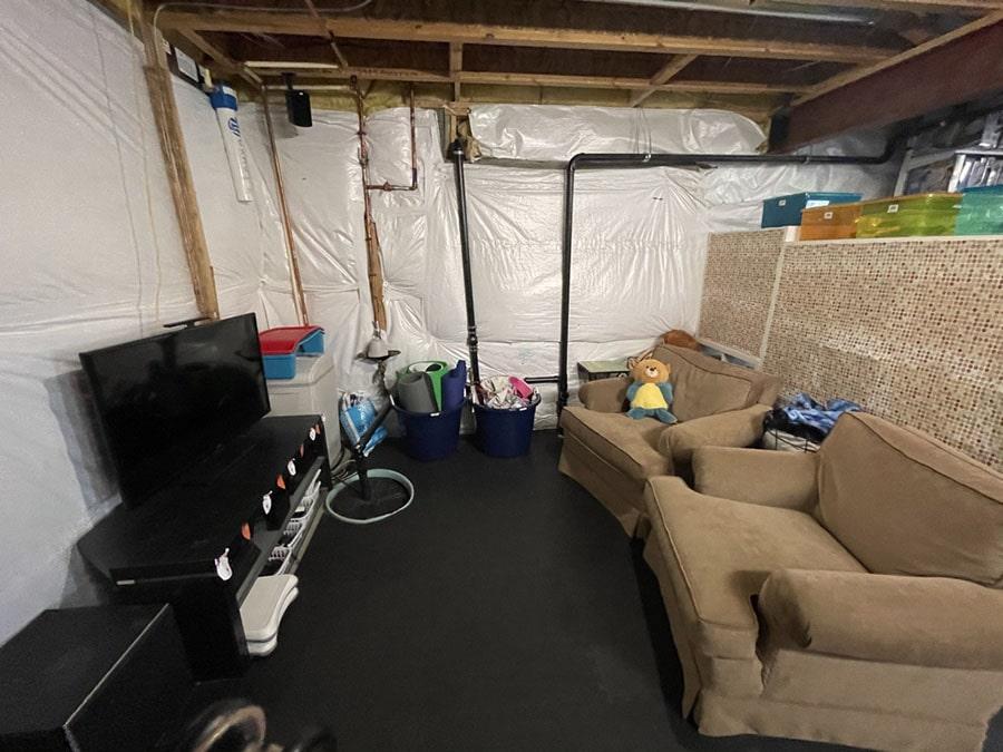 Basement After Room Redefined