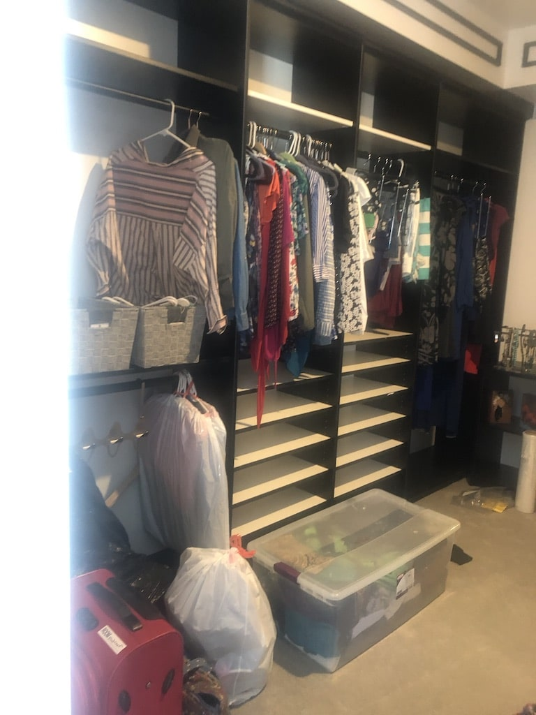 Closet-B Before Room Redefined