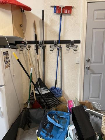 Garage-B Before Room Redefined