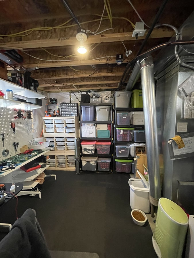 Basement Before Room Redefined